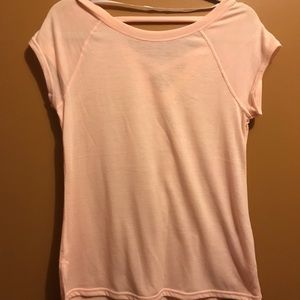 Calvin Klein Performance Pink Cross Back T-Shirt